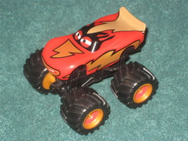 Loose Brand New Disney Store Cars Frightening McMean Monster Plastic Truck - $10.88