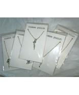 "Fashion Silver tone chain 18"" with 2"" heart drop pendant 20"" necklace lo... - $19.80"