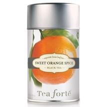 Tea Forte Sweet Orange Spice Black Tea - Loose Leaf Tea - 50 Servings Canister - $12.86