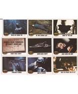 1989 Batman Card Lot #14 Cards #16,34,38,59,108,115,118,119, & 130 Joker... - $4.95