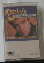 Elvis 50 Years 50 Hits Double Cassette Set - $12.99