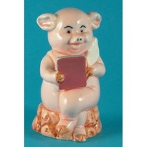 Danbury Mint 8cm high pig figurine - Piggies collection - Pig Pen - $24.66