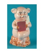 Danbury Mint 8cm high pig figurine - Piggies collection - Pig Pen - $24.66