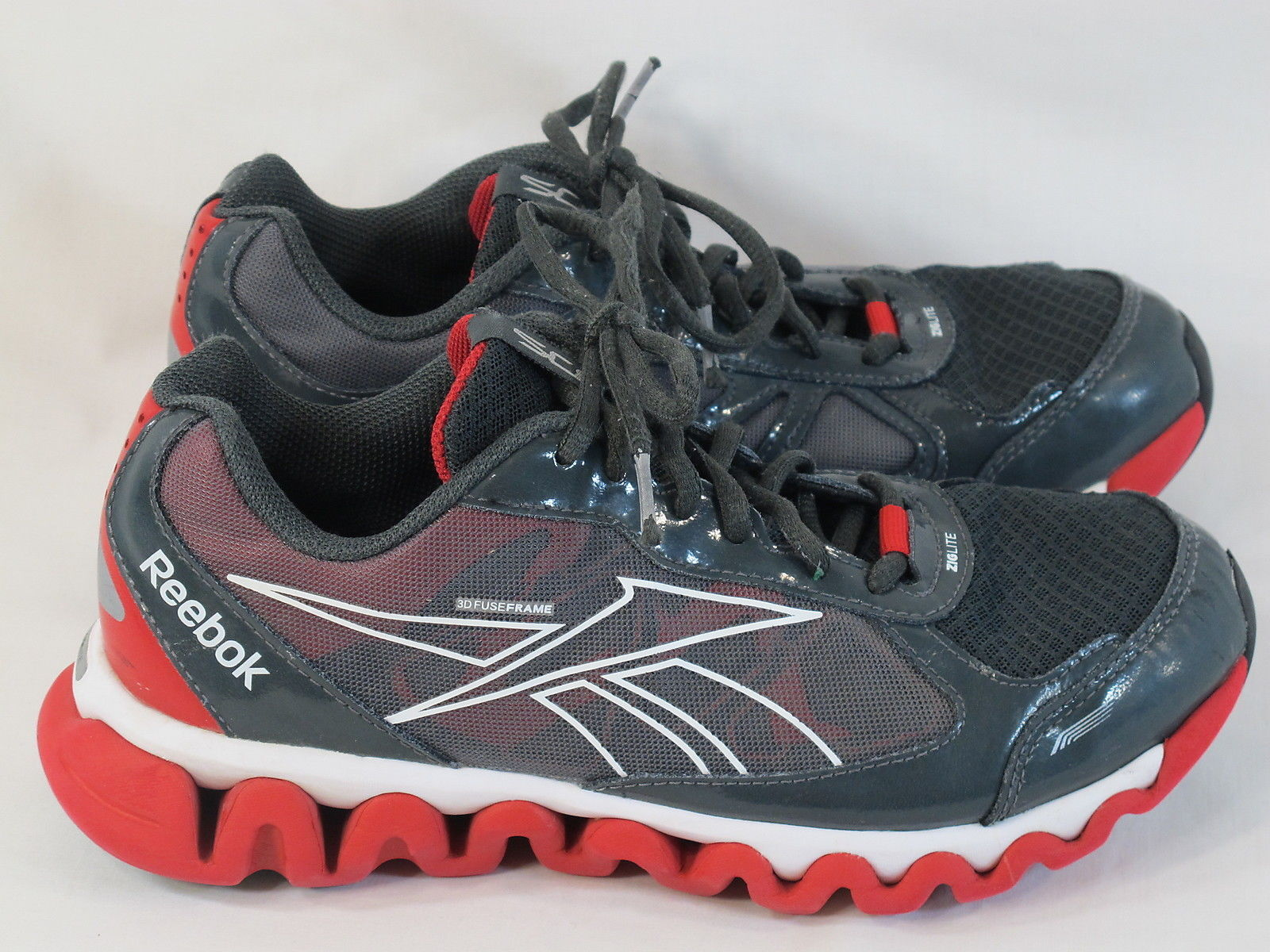 57. 57. Previous. Reebok ZigLite Rush Lightweight Running Shoes Men s Size  ... 6eaacdb96