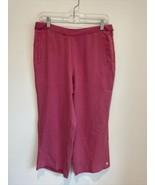 Tommy Bahama Womens 8 Pink 100% Silk Capri Pants - $29.69