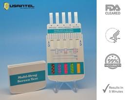 5 Pack 10 Panel Drug Testing Kit - Home & Work Test for 10 Drugs - Free Shipping - $17.44