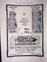 1914 advertisement Wrigley's Spearmint Gum The Flavor Lasts - $7.80