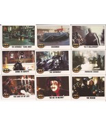 1989 Batman Card Lot #12 Cards #70,72,74,75,77,78,79,80 & 81 Joker Goons... - $4.95
