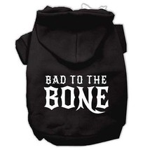 DOG SWEAT SHIRT chihuahua yorkie maltese toy DOG HOODIE SKULL biker clothes - €12,84 EUR