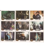 1989 Batman Card Lot #11 Cards #82,83,84,85,86,87,89,91 & 92 Joker Goons... - $4.95