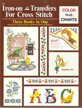 BOOK-Iron -On Transfers for Cross Stitch: Three Books in One  - $9.99