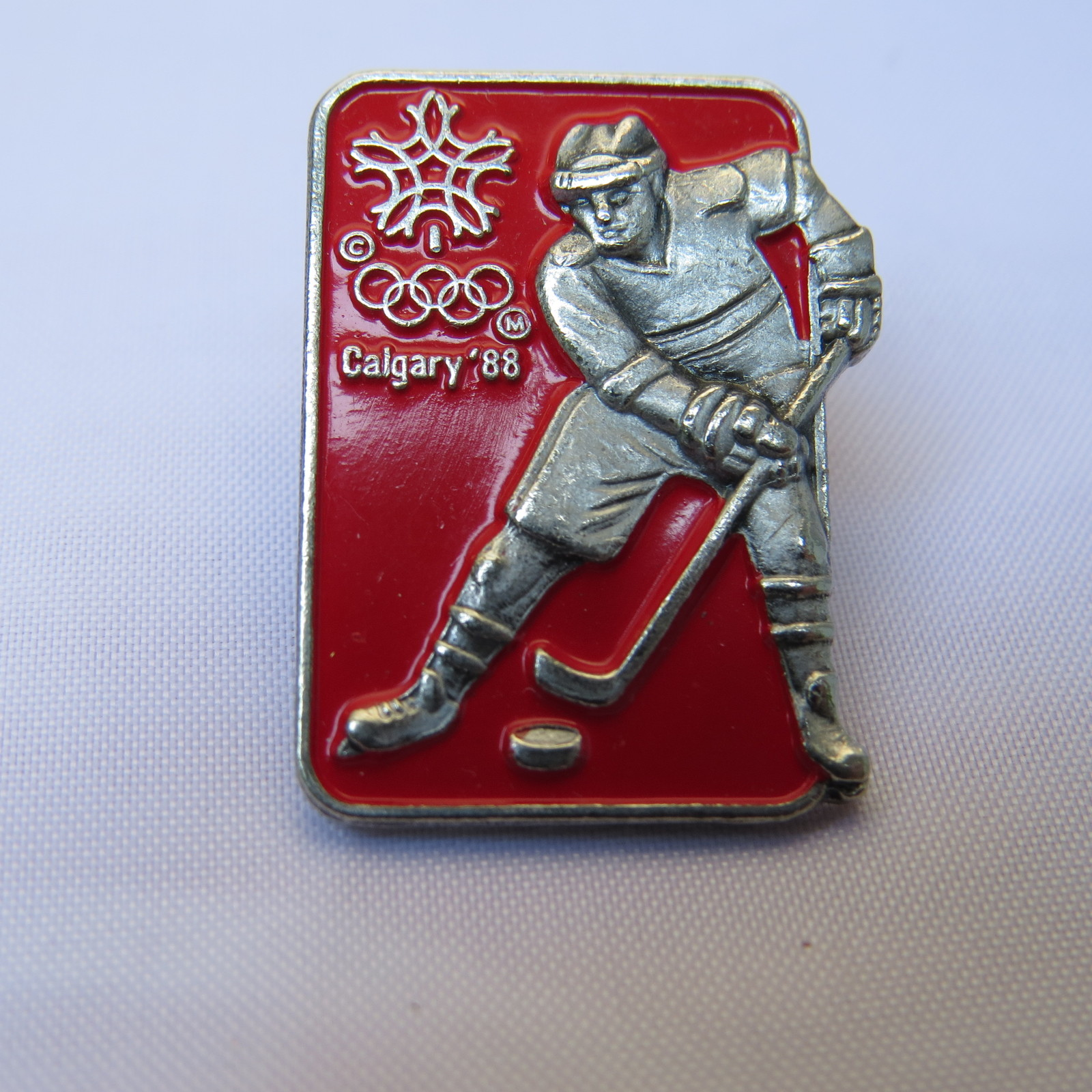 Primary image for 1988 Winter Olympic Games - Esso Canada - Collector Series Pin - Hockey