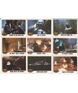 1989 Batman Card Lot #9 Cards #107,108,110,111,112,114,115,116 & 118 Jok... - $4.95