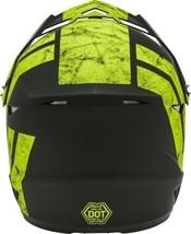 New Adult S Gmax GM46 Dominant Matte Black/Hi-Viz Offroad Helmet DOT image 2