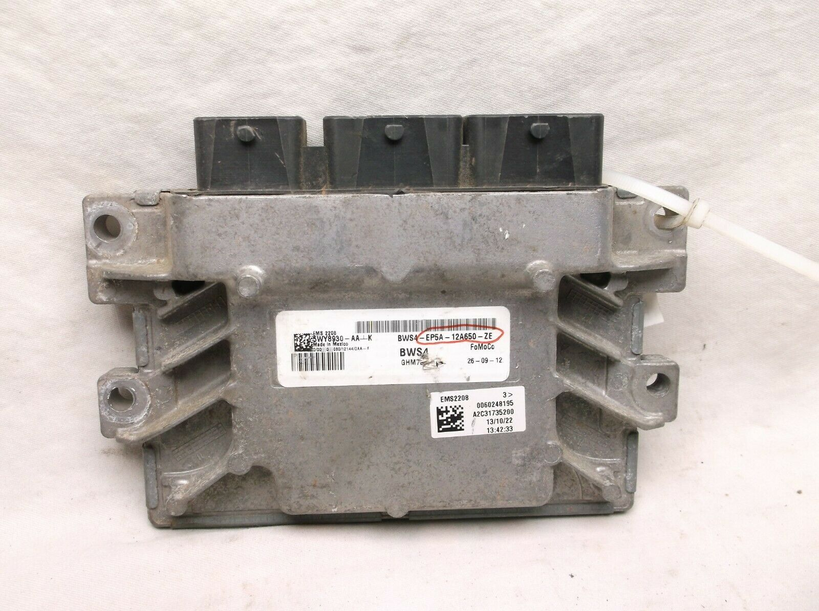 Primary image for 14-15-16 LINCOLN MKZ 2.0L HYBRID  /ENGINE /COMPUTER/ECU.PCM