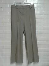 Women's Ann Taylor Brown Size 8 Curvy Casual Dress Pants - $7.91