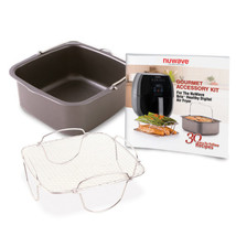 Nuwave 6 qt. Brio Gourmet Accessory Kit, reversible rack,baking pan, 30 ... - €67,68 EUR