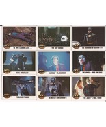 1989 Batman Card Lot #8 Cards #119,121,123,125,127,129,130,131 & 132 Jok... - $4.95