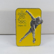 1988 Winter Olympic Games - Esso Canada - Collector Series Pin - Speed Skating - $15.00