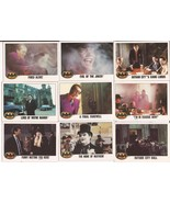 1989 Batman Card Lot #5 Cards #47,49,50,51,52,53,54,55,& 56 Joker Vicki ... - $4.95