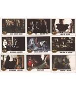 1989 Batman Card Lot #3 Cards #16,18,23,25,26,27,28,29, & 30 Joker Vicki... - $4.95