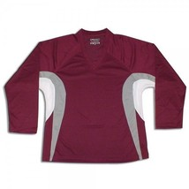 Dry Fit EDGE INSPIRED  Hockey Jersey with Name and Number!  Maroon/Grey/White - $24.02