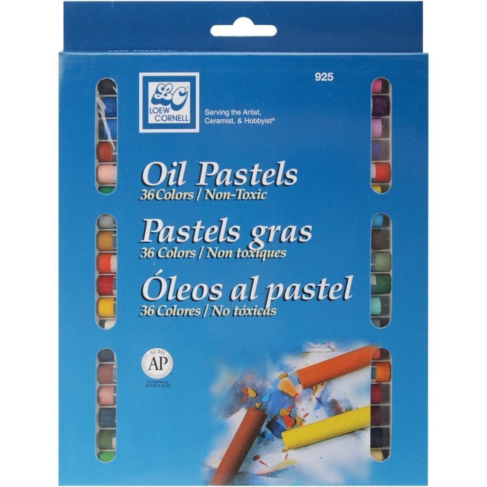 Oil Pastels 36 Pkg