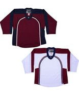Colorado Avalanche  NHL Style Replica Hockey Jersey   NO LOGO DJ300 - $33.75