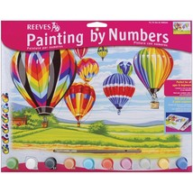 Paint By Number Kit 12X16 Hot Air Balloons - $8.77