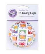 Standard Baking Cups Cupcake Heaven 75 Pkg - $2.93