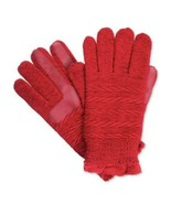 ISOTONER smarTouch Women's Fleece Lined Smart Touch Texting Gloves, Red $36 - $19.79