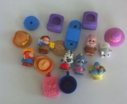 Kids Toys Mixed Lot Plastic Little Tykes Zhu Zhu?? - $7.40