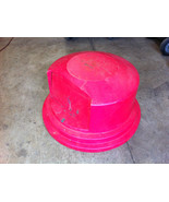 Rubbermaid Brute RED 55 Gallon Drum Trash Garbage Dome Lid - $35.00