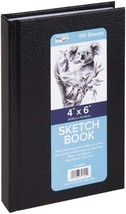 "Pro Art 0205-00 Hard Bound Sketch Book 4""X6""-Black - $10.92"