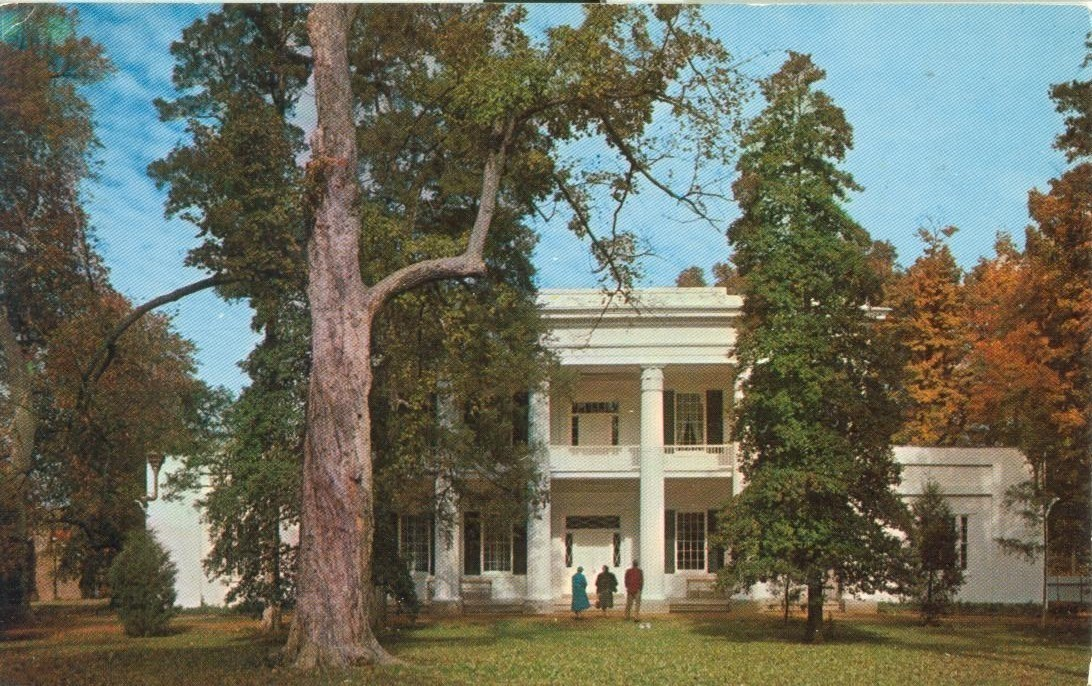 The Hermitage, near Nashville, Tennessee, 1959 used chrome Postcard