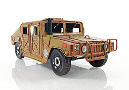 US Army Humvee Collectible Military Light Truck Model Handcrafted of Iron - $90.56