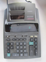 Casio DR-250HD 2 Color Display Tax & Exchange Electronic Printing Calcul... - $19.59