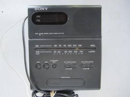Vintage Sony Alarm Clock Radio ICF-C770 – Tilting Display - $24.94