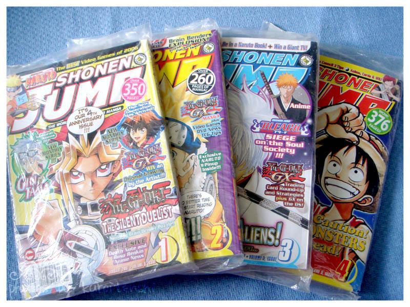 Shounen Jump 17 Issues