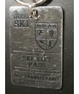 Peek 'n Peak Ski Lift Pass Key Chain Metal Fob Adult One Day Ski Lift Pass - €6,45 EUR