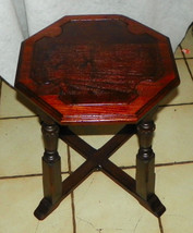Mahgoany Plant Stand / Side Table by Lifetime - $199.00