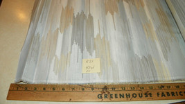 Off White Abstract Print Upholstery Fabric  1 Yard  R21 - $24.95