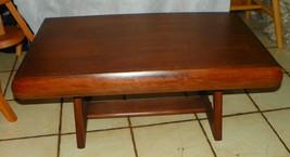 Mahogany  Mid Century Modern Coffee Table - $399.00