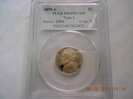 1979-S  Jefferson Nickel Type 1 Proof 69DC  PCGS - $19.99