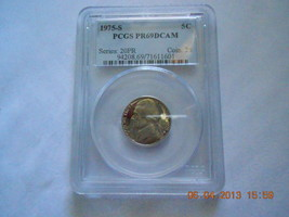 1975-S Jefferson Nickel  Proof 69DC  PCGS - $49.99