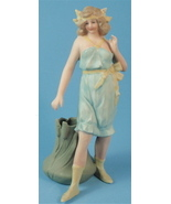 German Bisque Bathing Beauty Match or Toothpick... - $250.00