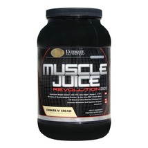 Ultimate Nutrition Muscle Juice Revolution 2600, Cookies & Cream 4.69 lb - $99.00