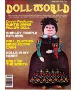 NATIONAL DOLL WORLD - vintage magazine - 1978 February - $8.00