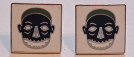 Swank Signed Vintage Men's Mexico Mask Tribal Face Cufflinks Set - $49.95