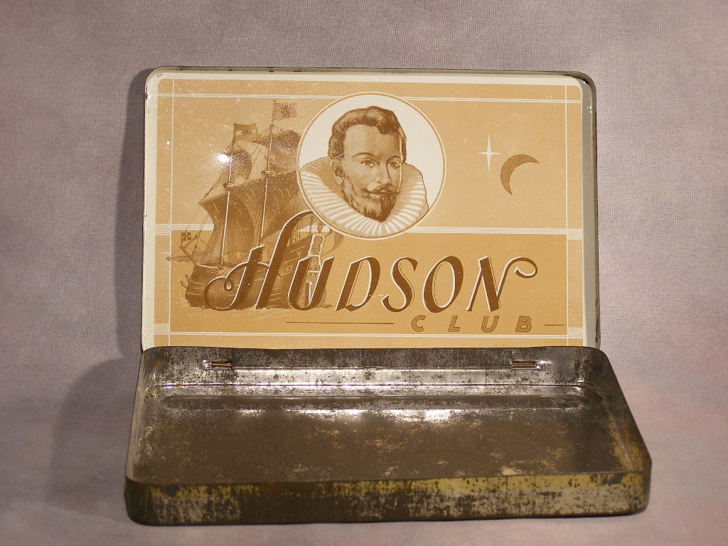 HUDSON CLUB CIGAR TIN - (SKU#1912)